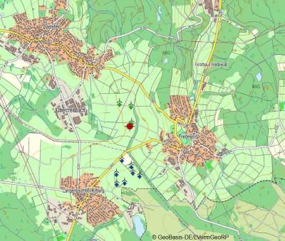 Repowering Oberdreisbach Karte